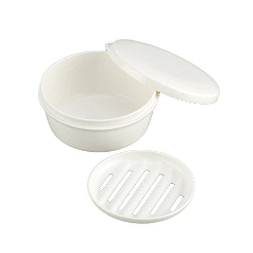 Soap Box - Arbor Home MXY White Color Round Soap Case