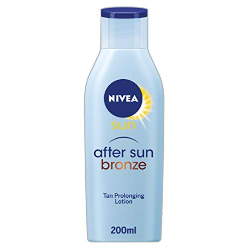 NIVEA SUN After Sun Bronze Lotion (200 ml), Combination Tan Prolonger and After...