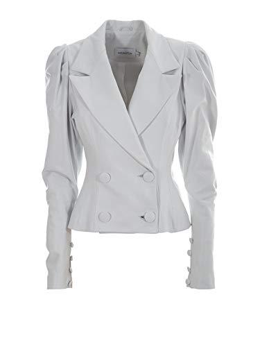 16ARLINGTON dames J016wht wit leer blazer