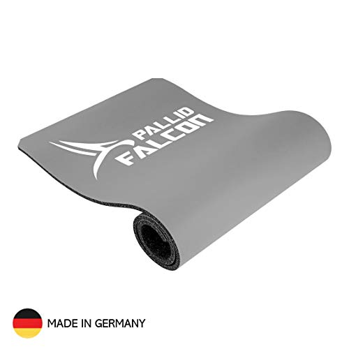 Pallid Falcon Gymnastikmatte – Impact Advanced Workout System© - Unterlage zum Seilspringen und Fitnessmatte – Abriebfest, rutschfest, abwaschbar, schadstofffrei - Made in Germany [185 x 65 x 1,4 cm]