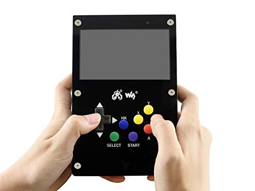 Waveshare GamePi43 Portable Video Game Console Based on Raspberry Pi B+/2B/3B/3B+ 4.3inch IPS Display 800×480 Pixels