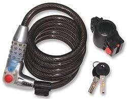 Kasp bike pay cable lock, K750L180