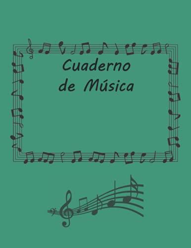 Cuaderno de Música: Cuaderno de Papel Manuscrito – 12 pentagramas por página – Cuaderno de Música con Hoja en Blanco – 100 páginas