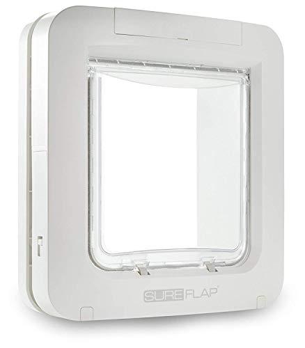 SureFlap Microchip Porta per animali domestici, Bianco