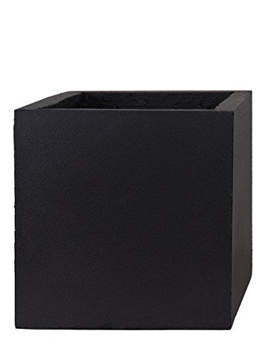Pflanzwerk® Pflanzkübel Cube Anthrazit 30x34x34cm *Frostbeständiger Blumenkübel* *UV-Schutz* *Qualitätsware*