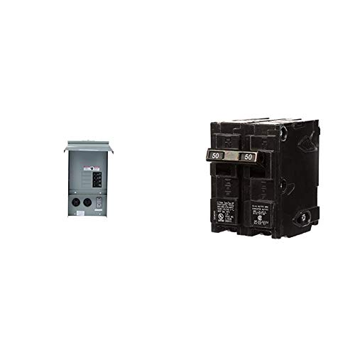 Q250 NEW SIEMENS 50 AMP 2 POLE CIRCUIT BREAKER TYPE QP