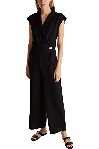 ESPRIT Collection 030EO1L301 Overall Damen, Schwarz (001/BLACK), M