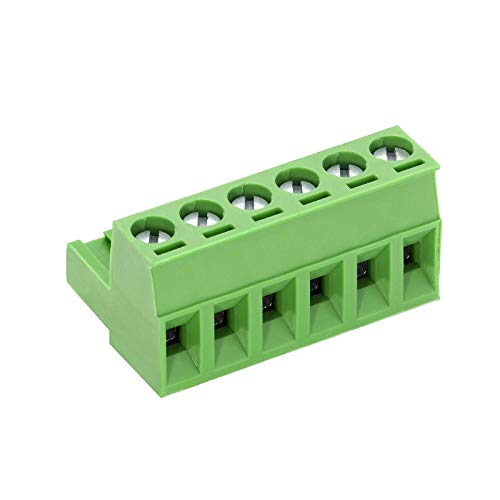 WITTKOWARE Leiterplatten-Steck-Anschlussklemme mit Schraubklemmen PTR AKZ950, RM5,08, 12A/250V, 5-polig