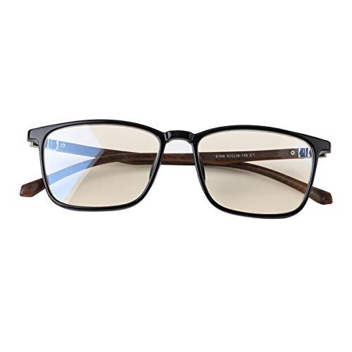 JJCFM Ultra Light Leesbril, anti-blue senioren, HD-reader, anti-fatigue bril voor vrouwen en mannen, geschikt voor lezen en televisie
