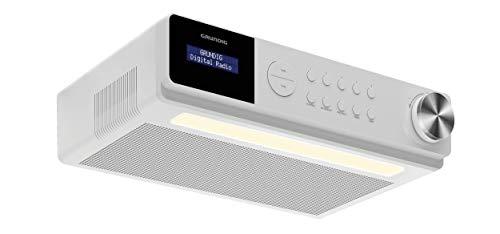 Grundig DKR 1000BT DAB + Küchenradio mit Bluetooth und DAB + Empfang Weiß