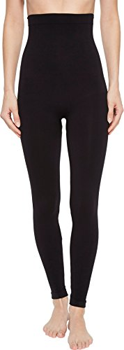 SPANX Look at Me Now High-Waisted Seamless Leggings Very Black XS