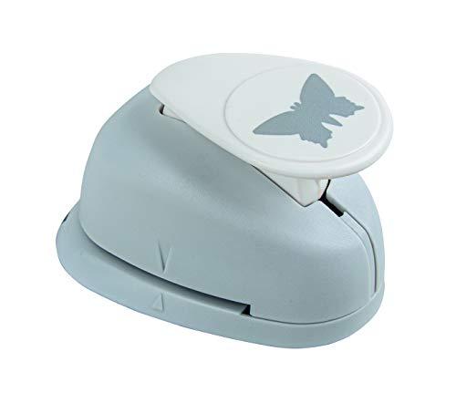 Rayher Hobby 89833000 Motivstanzer Schmetterling, ø 2,54 cm- 1 Zoll, geeignet für Papier/Karton bis zu 200g/m²
