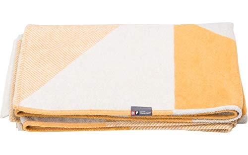 David Fussenegger - Velvet Plaid, Decke - Artdeco - Gold - 135 x 200 cm
