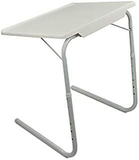 Plastic Table Mate Folding Portable TV Tray Laptop Desk Adjustable Height Tilt Angle Multi Function for Sofa Couch Bed Rea...
