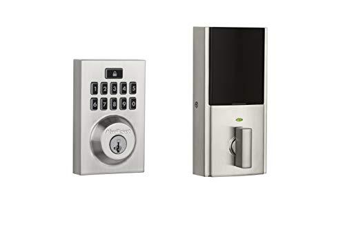 Kwikset Smartcode 913 Zeitgenössischer elektronischer Riegel Smart Lock-Tastatur Satin/Nickelfarben