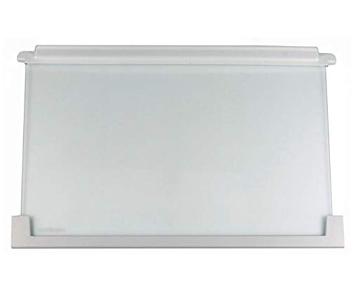 Glasplatte mit Halteleiste für Kühlschrank 475 x 305 x 25 mm AEG 225153106/3