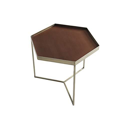 table de salon Nordic Simple canapé de salon de mode de l'industrie moderne Petite table d'appoint (taille : 40cm*36cm)
