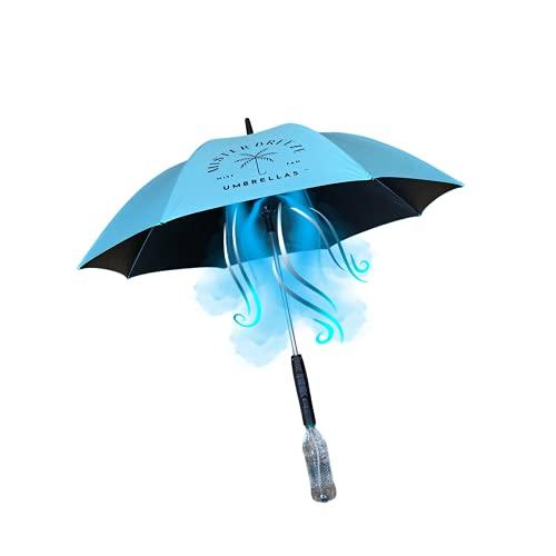 MisterBreeze personal mist and fan umbrella (SeaScape)