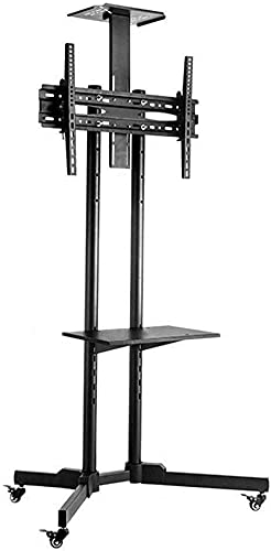 telewizja Góra Mobile.telewizja Koszyk stojak podłogi -wysoki telewizja Uchwyt stoiska LCD Wyświetlacz domu telewizja Wózek uniwersalny telewizor stojak na podłogę wózka podłogowa z koła mobilna telew