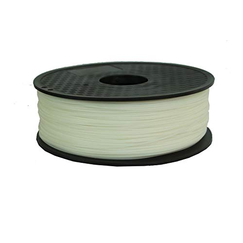 0.5kg 1.75mm Water Soluble PVA Filament For 3D Printers Plastic Handles 3d Pla Filament 1.75mm 1kg Printer Accessories (Color : 1KG WHITE, Size : Free)