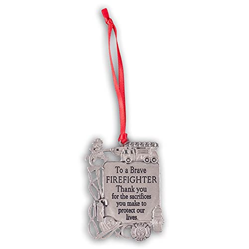 Cathedral Art Firefighter (Abbey & CA Gift) Occupation Ornament
