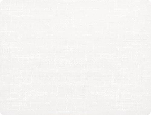 Duni 165471 Sets de table, EN SILICONE, 30 cm x 45 cm, Blanc (lot de 30)