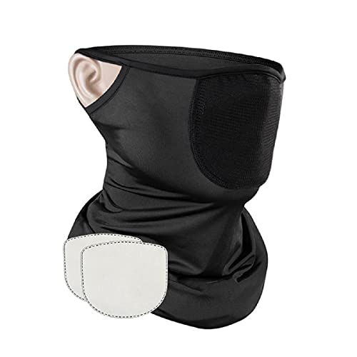 Evershop Reusable Face Covering for Men Women Kids, Breathable Balaclava face Bandanas Washable with Dust Protection for Bike Motorbike Cycling Fishing Outdoor Sport
