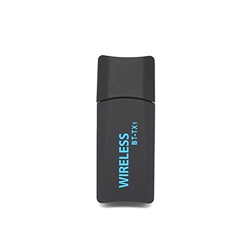 Leluckly1 Kompaktes und leichtes Kabel BT-TX1 2 in 1 drahtlosen Bluetooth-3,5-mm-Audio-Transmitter USB-Adapter for TV ComputerSimple und praktisch