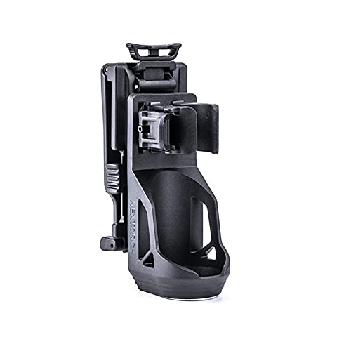 """Nextorch V5 Tactical Flashlight Holster with Lever Side Lock System Only for 1""""-1.25"""" Diameter Flashlight (Holster Head Diameter 0.78""""-1.18"""" Bottom Diameter 1.18"""") (V51)"""