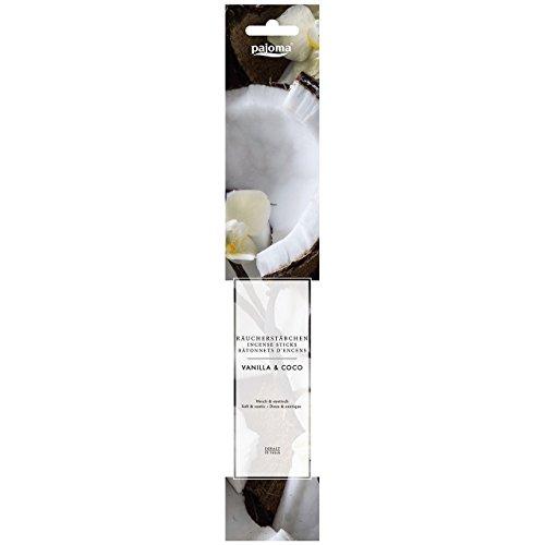 Pajoma Räucherstäbchen ''Vanilla & Coco'' aus Indien, 10er Pack, L 28 cm