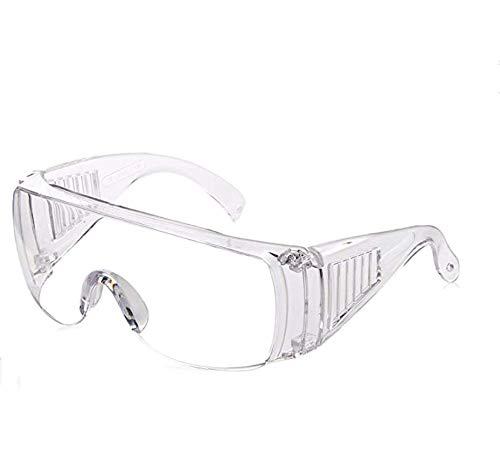 SANDIN Gafas de seguridad transparentes Salpicaduras contra la infección para construcción, laboratorio, productos químicos Protección ocular Gafas de seguridad Gafas protectoras 1 pieza transparent
