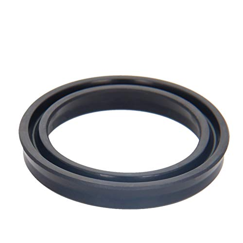 Othmro Hydraulic Seal Piston Shaft USH Oil Sealing O-Ring 42mm x 32mm x 6mm Nitrile Rubber Black 1pcs