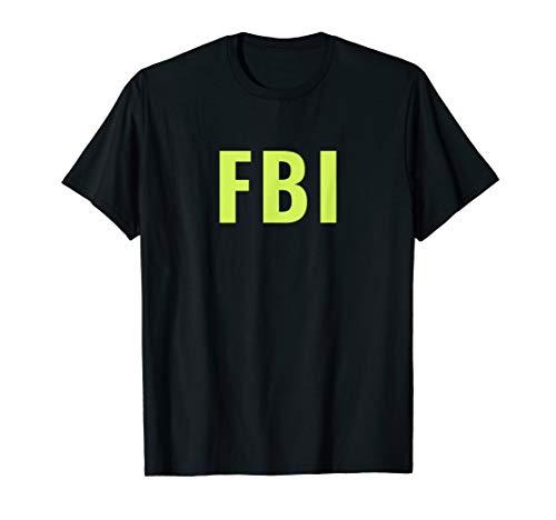 FBI Kostüm - Polizei - Police - Karneval Tshirt T-Shirt