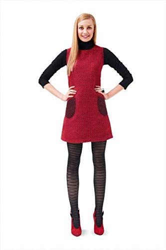 Burda 6721 Schnittmuster Träger-Kleid ausgestellt (Damen, Gr. 34-44 EU) Level 1 super easy