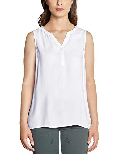 Cecil Damen 341543 Bluse, White, XX-Large (Herstellergröße:XXL)