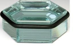 Lienbacher Butée de porte de sol en verre patiné