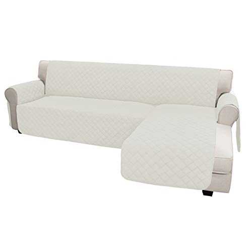 Easy-Going Sofa Slipcover L Shape Sofa Cover Sectional Couch Cover Chaise Lounge Slip Cover...