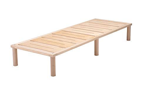 Gigapur G1 26899 Bett | Bettgestell mit Lattenrost | belastbar bis 195 kg je Element | Holzbett 70 x 200 cm