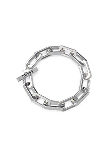 Guess Pulsera unisex de acero inoxidable, talla única, 88050771