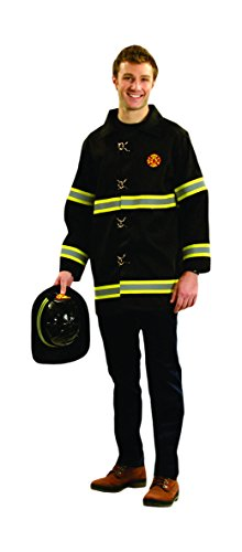 Dress up America Chaqueta de Bombero Adulto