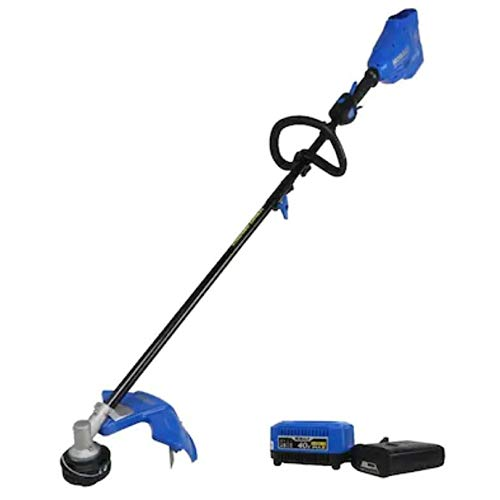 Best Prices! KT Kobalt 40-Volt Max 16-in Straight Cordless String Trimmer with Attachment Capable an...