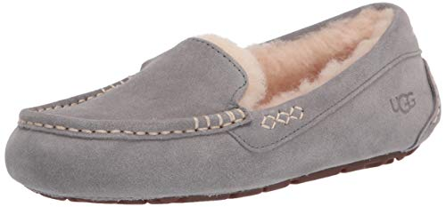 UGG Ansley Slipper, Light Grey, Size 10