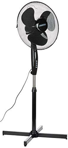 Mesko MS7311 MS 7311 - Ventilatore da pavimento, 45 W, colore: Nero