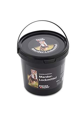 Swiss Hunt Marder Lockmittel, Lockpellets speziell für die Fallenjagd