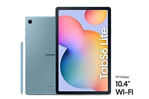Samsung Galaxy Tab S6 Lite, 64GB, 4GB RAM, Wi-Fi, UAE Version – Blue