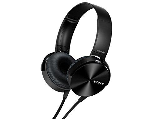 Fone de Ouvido (c/ mic) - 3,5mm - Sony - MDR-XB450AP EXTRA BASS - Preto