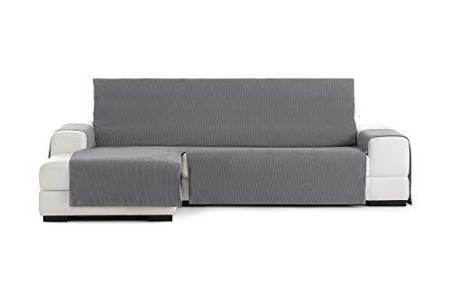 Eysa Loira Protect Funda de sofá, 65% Poliester 35% algodón, Gris, 240 Cm
