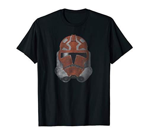 Star Wars The Clone Wars 332nd Ahsoka Trooper Distressed T-Shirt