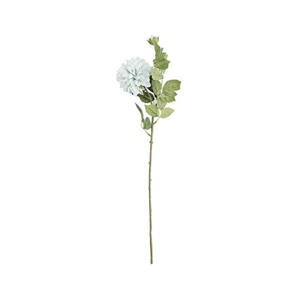 KeKeandYaoYao – 1 pieza de flores artificiales aztecas dalia para fotografía, decoración floral para boda, hogar, color…