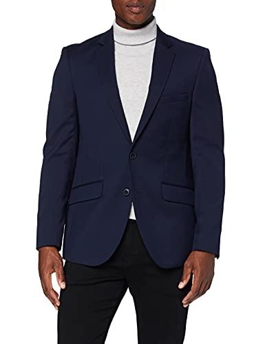 find. Chaqueta de Vestir de Corte Estándar Hombre, azul (marino), 52R, Label: 42R